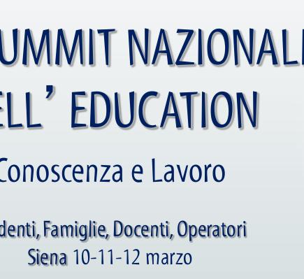 1° Summit Nazionale dell'Education di Siena
