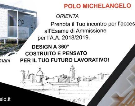 Orientamento Istituto Universitario Polo Michelangelo