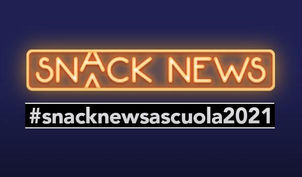 Contest Snack News a scuola 2021